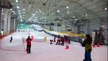 A ski slope that's immune to weather