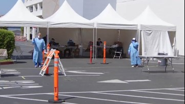 How drive-thru COVID-19 testing centers work
