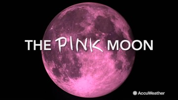 What is a 'pink moon?'