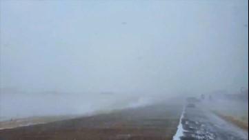 Insane snow squalls blast Colorado