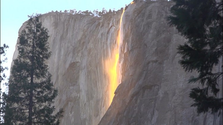 Time is running out to see Firefall at Yosemite
