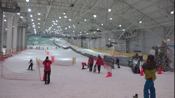 New indoor ski slope acts as alternative during low snowfall