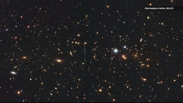 Hubble Captures 'El Gordo,' the Largest Galaxy Cluster Ever Discovered