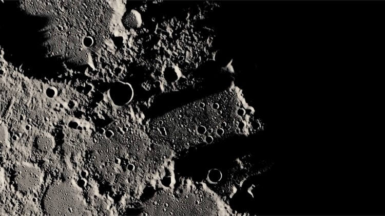 The Moon Could Be Hiding Water on Its Rough, Bumpy Exterior