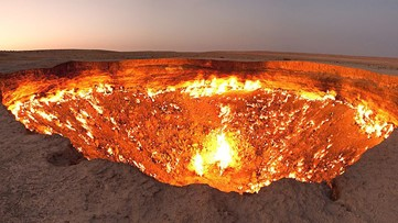 The Story Behind Earth's 'Door to Hell,' a Fiery Pit Burning Since 1971