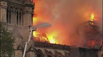 France holds daylong tribute to firefighters after Notre Dame fire