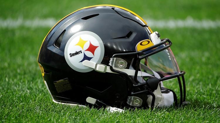 Pittsburgh Steelers helmet