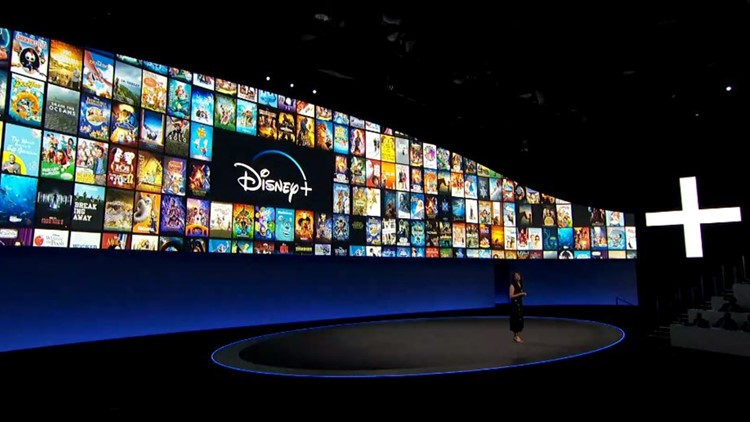 Disney presentation gives overview of Disney+ service