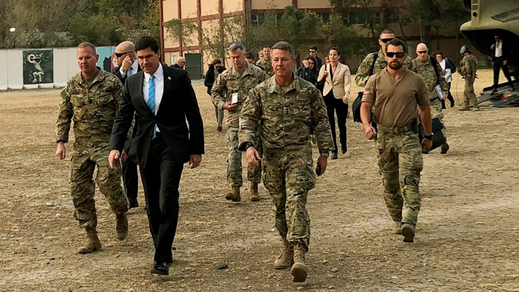 United States Afghanistan Defense Secretary Mark Esper