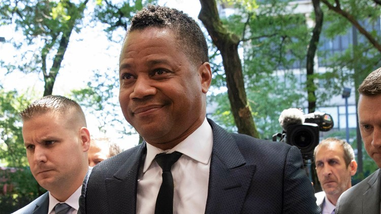 Cuba Gooding Jr Groping Allegation surrendering to authorities