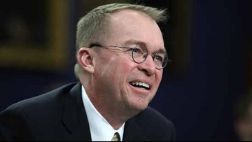 Trump picks budget head Mulvaney to be next chief of staff