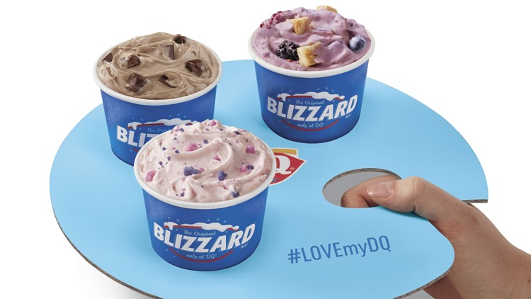 Blizzard mini treats flights