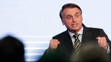 Brazilian army may fight Amazon fires, Bolsonaro says