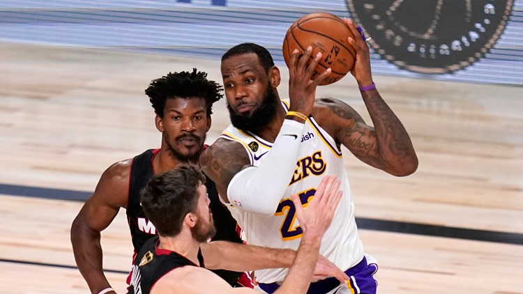 Bubble Kings: Los Angeles Lakers run past Miami Heat for 17th NBA championship