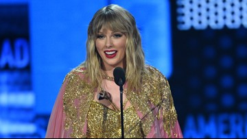 Taylor Swift wins top honor at AMAs, breaks MJ record