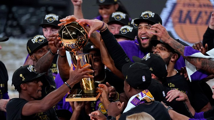 Lakers sail over Heat for 17th NBA championship
