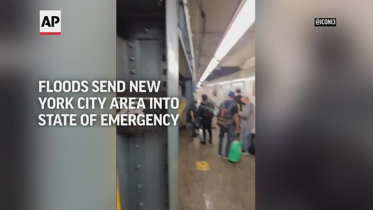 Floods from Ida send New York City into state of emergency