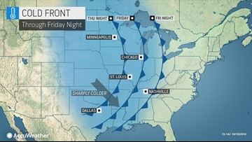 Blizzard to usher in piercing cold in the central U.S.
