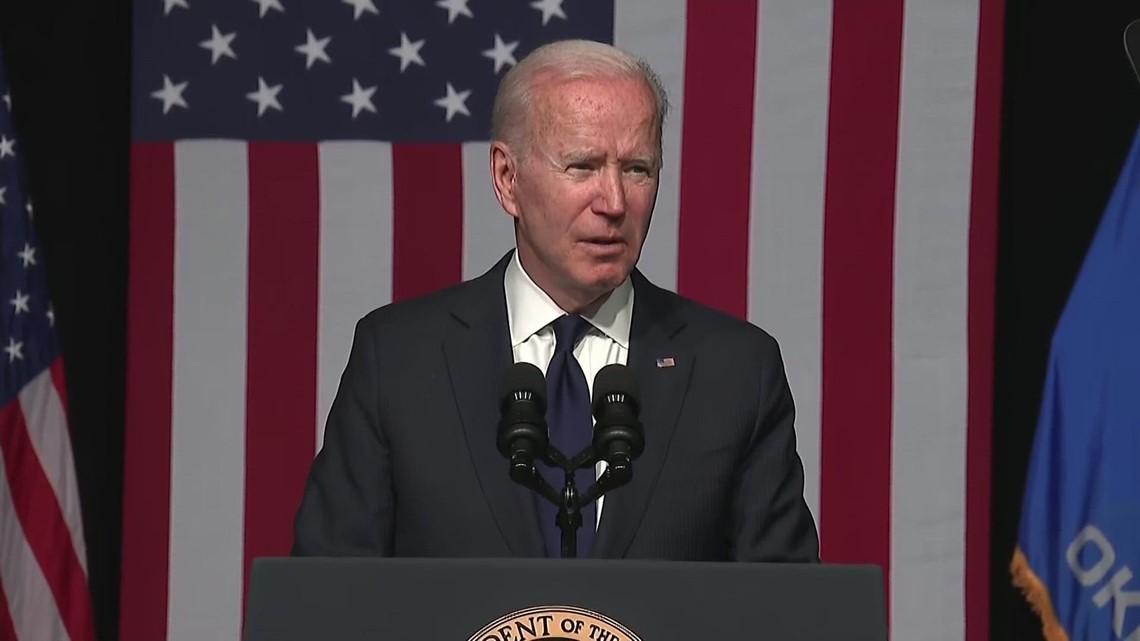 Biden remarks on 100th anniversary of Tulsa massacre