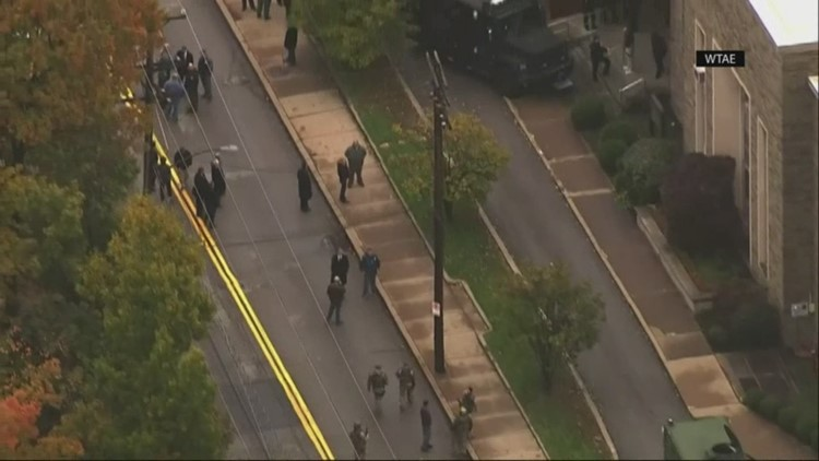 Neighbor stunned by shooting at Pittsburgh synagogue: 'It's surreal'