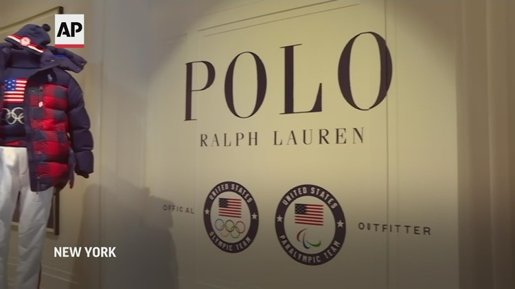 Ralph Lauren rolls out buffalo plaid for Team USA in Beijing