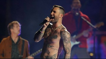 Adam Levine's nipples flooded FCC Super Bowl complaint inbox