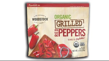 Frozen red peppers recalled for listeria contamination fears