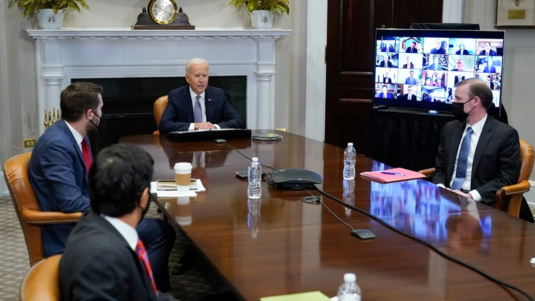 Biden to execs: US needs to invest and lead in computer chips
