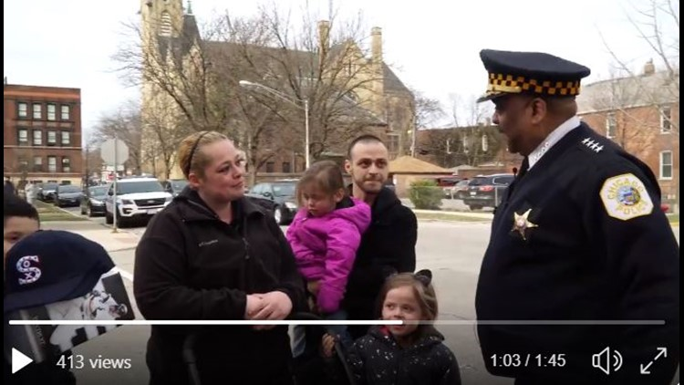 Police departments across the US are challenging each other to random acts of kindness