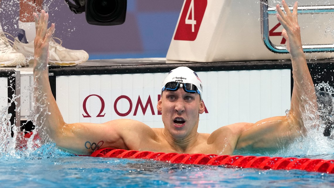 Image Tokyo Rewind, July 24: Team USA's first gold, silver and bronze medals Swimmer Chase Kalisz won the first American medal of the Tokyo Games when he captured gold in the men's 400-meter individ