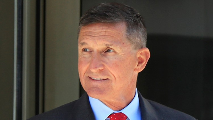 Michael Flynn Trump russia probe AP 2018 file