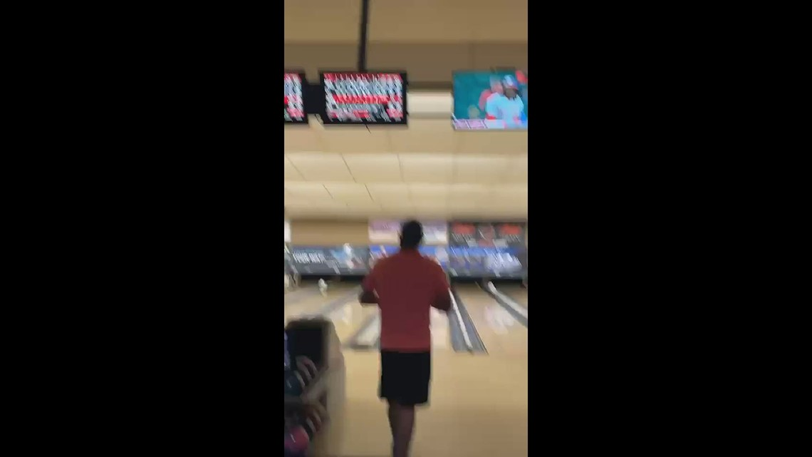 Man bowls perfect game using ball filled with father's ashes