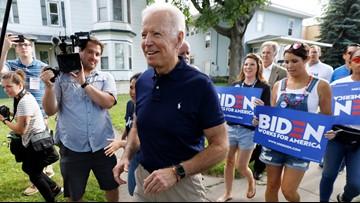 Biden campaigns as Obamacare's top defender