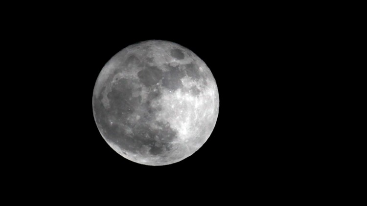 Saturday Supermoon March AP