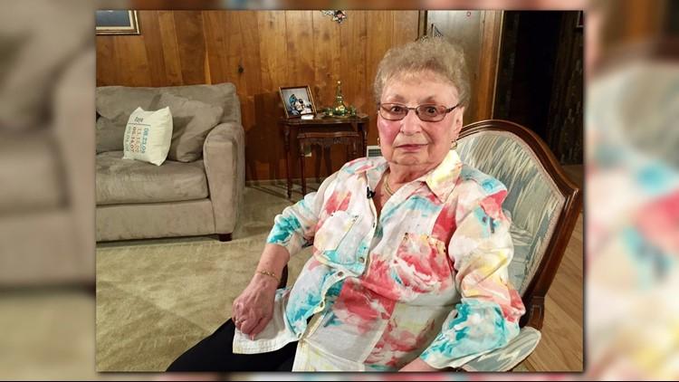 Holocaust survivor Esther Begam