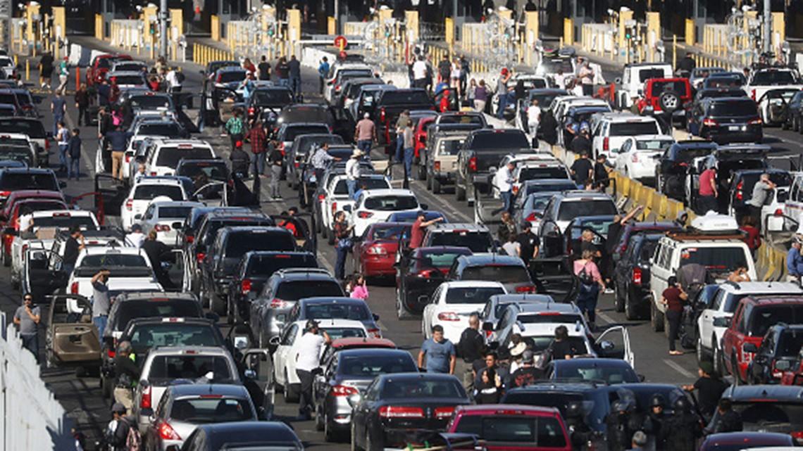 Border residents consider implications of a border 'shutdown'