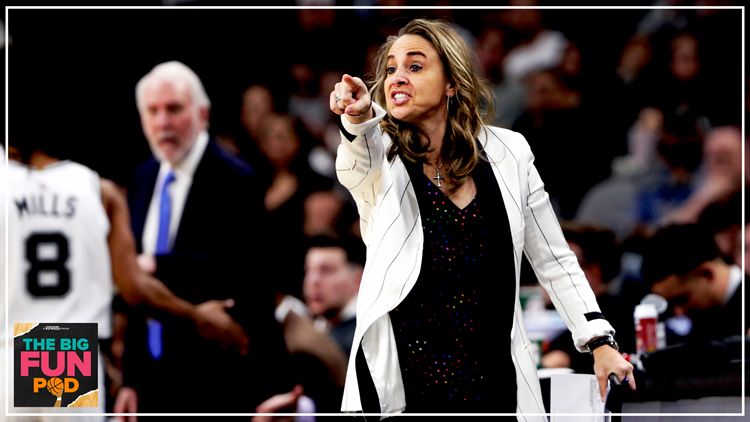 Reports: Becky Hammon now a finalist for head coaching job with the Portland Trail Blazers