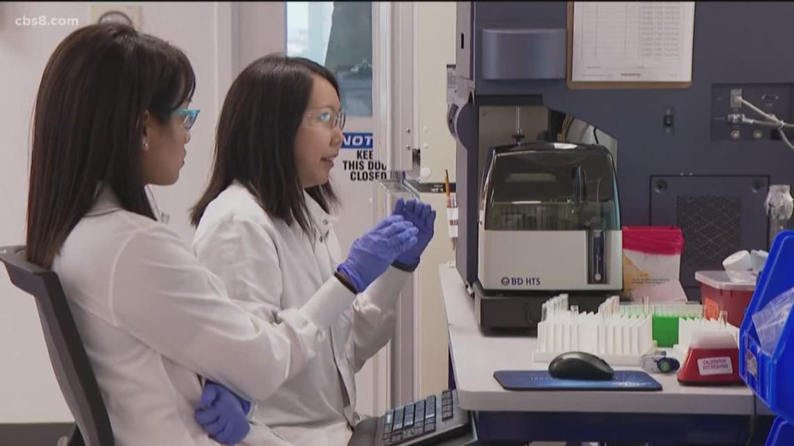 san diego lab discovers covid