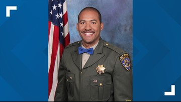 California Highway Patrol officer killed, others wounded in freeway shootout