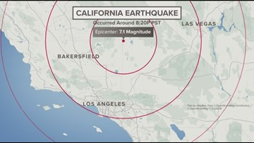Powerful 7.1 magnitude earthquake shakes southern California