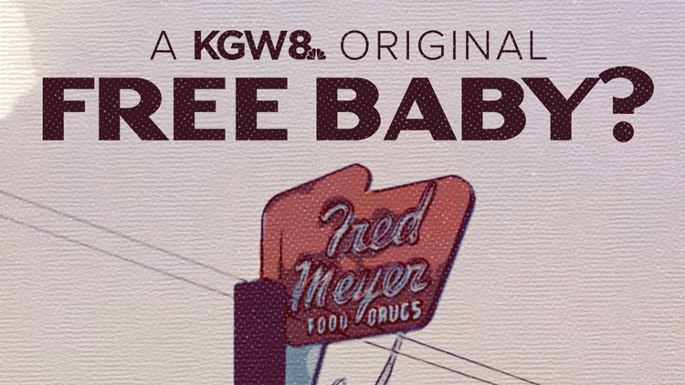 Free baby? 70 years ago Fred Meyer had a strange giveaway for a store opening