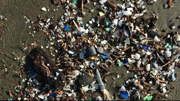 'Just unbelievable': Piles of trash washing up on Oregon Coast