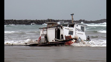 Three crew dead after crab boat capsizes in Oregon