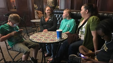 Portland parents upset by American Airlines' treatment of kids with disabilities stranded overnight