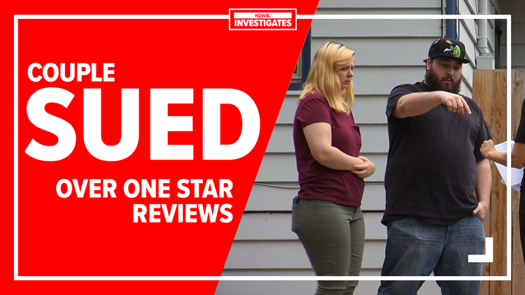 Washington couple sued for $112,000 after leaving one-star reviews