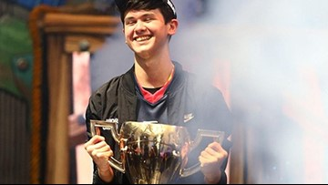 Teen pockets $3 million at Fortnite World Cup