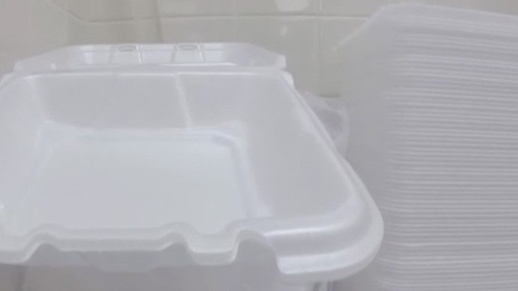 AISD student presents to school board plan to replace Styrofoam lunch trays