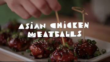 Asian Chicken Meatballs Recipe