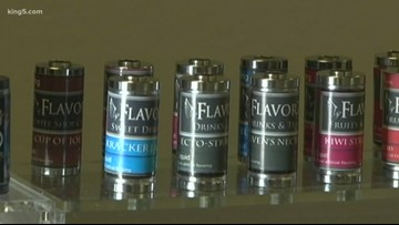 Inslee wants permanent ban on flavored vape products