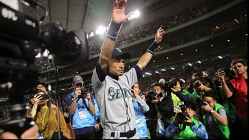 Ichiro back with Mariners as special assistant